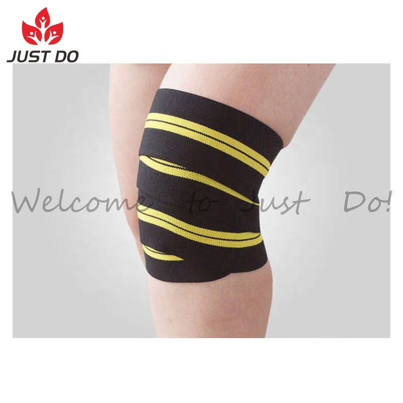 High Elasticity Compression Wrap Knee Support Bandage Buy Knee