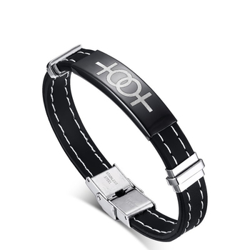 Stainless steel women symbol sister bracelet for Gay