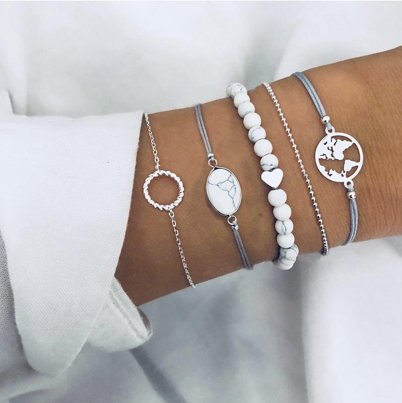 Beaded Bracelet Set, Distance Bracelets for Friends Friendship Bracelets Distance Bracelets фото