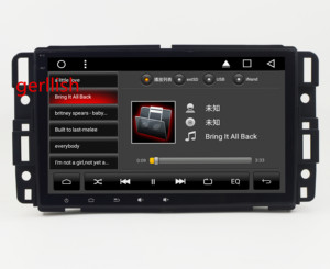 8'' Android car dvd gps navigation system car audio for GMC/Yukon/Tahoe/Suburban/Hummer H2 multimedia player