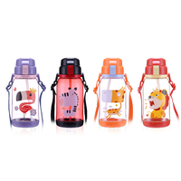 Heat resisting portable kids silicone mouth bpa free water bottle