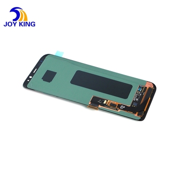 Original AMOLED LCD For Samsung Galaxy S8 Plus G950F G955F LCD Display With Frame Touch Screen Assembly Replacement LCD