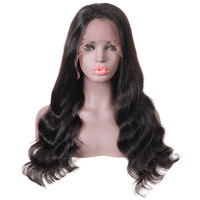 10a Grade 10 Inch Body Wave Brazilian Hair Lace Frontal Wig Human Hair