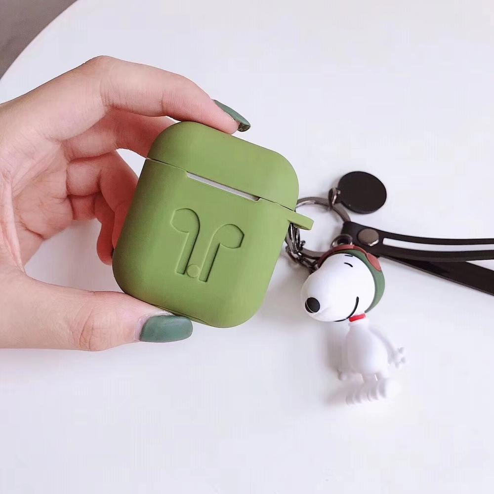 Amazon hot koop Japan Korea Shockproof case Voor Oortelefoon Airpod Case Cartoon Zachte Siliconen Doos Voor Apple Air pod