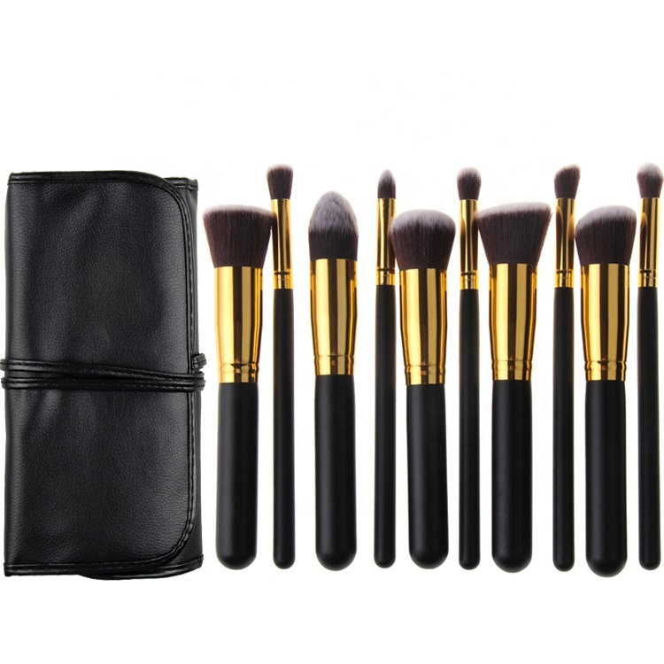 Gezicht Make Mini Borstel Set Professionele Cosmetische Penselen 10 pcs Custom Beste Make-Up Kwasten