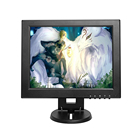 "Square Screen 12"" Mini TV & Car Video Player & Computer Display TFT LCD Color Screen PC Monitor"