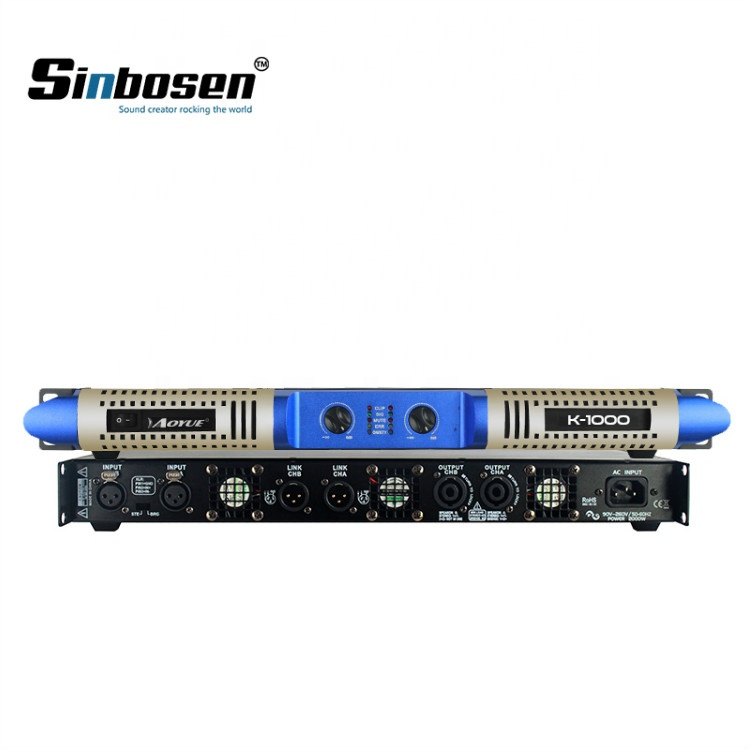 Sinbosen K-1000 Profesional 1000 W Kit IC Audio KTV Power Amplifier Kelas D