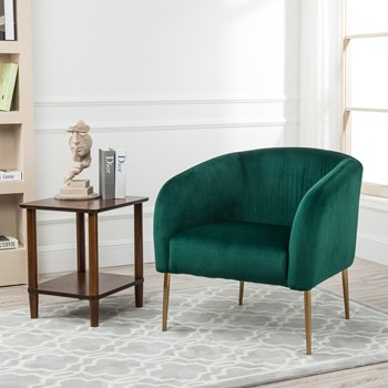 Antique Living Room Chairs Armchair,Hotel Lounge Chair Velvet Tub  Chair,Green Velvet Chair Gold Leg Chair Accent Chair - Buy Accent Chair For  Living ...