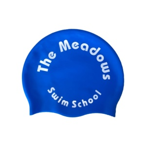 High quality custom printed funny silicone swim caps for kids