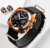 New Brand Classic men Luxury waterproof SKMEI Luminous multi-function Unisex sports Rotatable Nylon watches