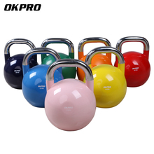 China Wholesale Custom Logo Staal Kleur Gewicht Concurrentie <span class=keywords><strong>Kettlebell</strong></span>