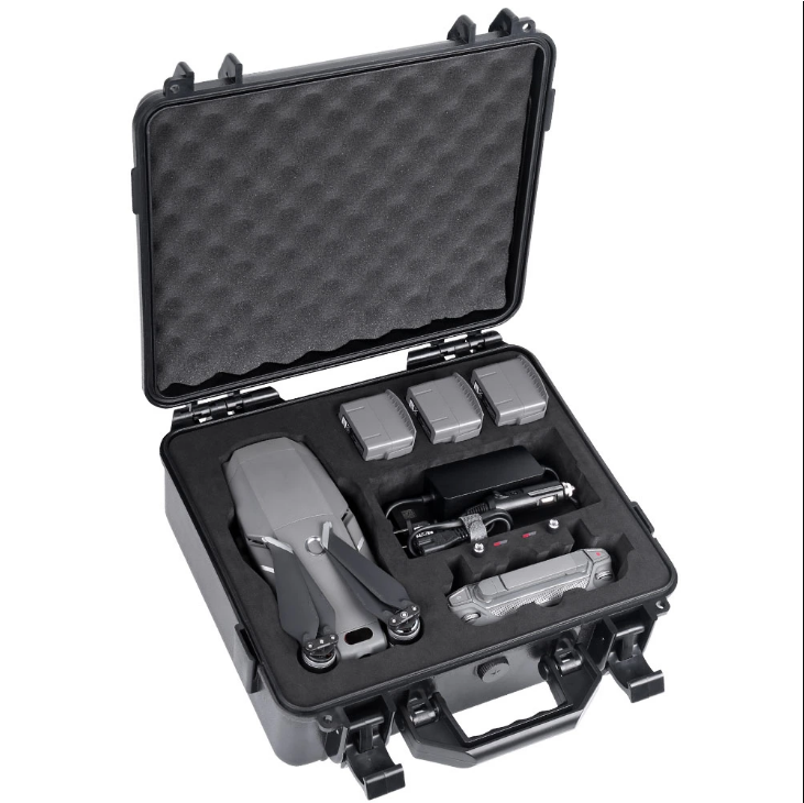 Smatree DJI Drone Waterproof <strong>Hard</strong> <strong>Case</strong> with Custom Foam Insert for DJI Mavic 2 Pro/Zoom