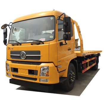 Dongfeng Kingrun big one tow two 10ton recovery road wrecker truck