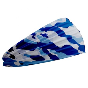 PURE best selling Popular Communication Function basketball cycling hiking Sports blue camo headband
