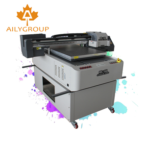 New design white color ink uv 6090 flatbed printer clear acrylic printer