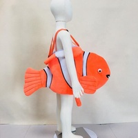 Hot sale new design animal mascot costume halloween fish cosplay for party