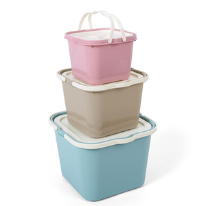 Hot Sale Small Bin Brick Plastic Toy Storage Box With Lid