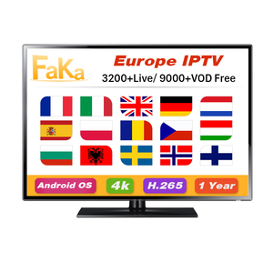 Wholesale European IPTV Channels Subscription Code 12 Months FAKAFHD APK  Europe IPTV Account Reseller Panel