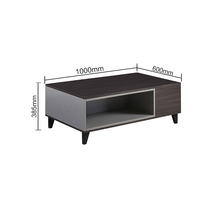 Modern Appearance Particle board coffee table Living Room Furniture made in China