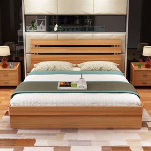 Design Queen Best Selling Products High Quality New Product Bedroom Furniture Double Size Wooden Chinese Day Solid Wood Twin Bed