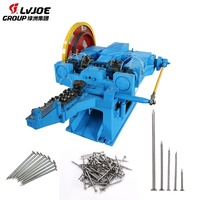 Manufacturing Plants Fully Automatic Wire Nail Making Machine/Nails Wire Drawing Machine Price