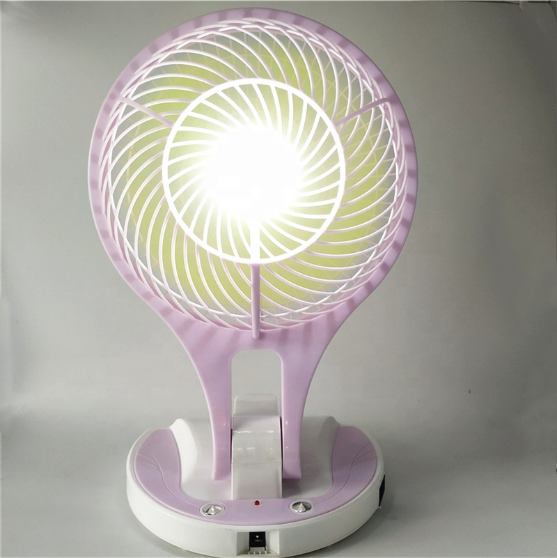 <strong>Fan</strong> rechargeable with led light portable <strong>fan</strong> light rechargeable <strong>fan</strong> light JR-5580
