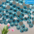 S0807 Aquamarine SS10 SS16 SS20 Swainstone hotfix bead ,china hot fix swainstones beads supplier;hotfix beads swainstones