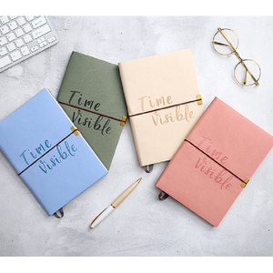 Customized literary and creative students cute notebooks Simple and stylish Italian tied hands-on notebooks