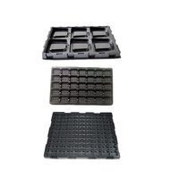 Custom Plastic Thermoforming Tray Anti Static Component Trays
