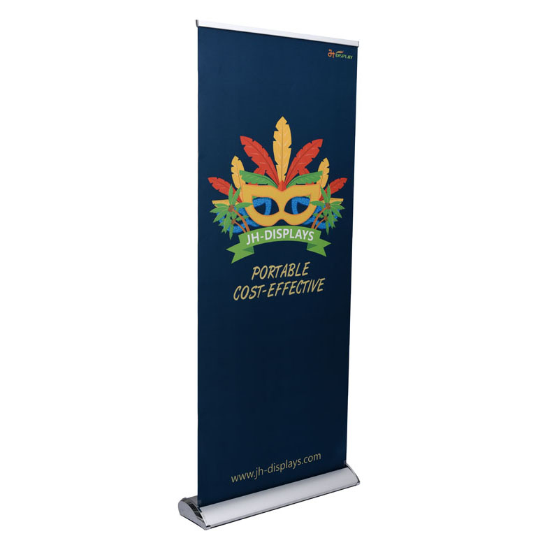 Premium Aluminium Roll up Intrekbare Banner Stand voor Handel Show Store Display