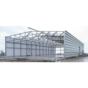 China Q345 and other types of steel prefabricated metal prefabricated steel structure buildings