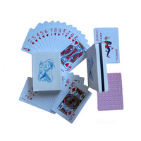 High Quality plastic PVC Waterproof Custom Game poker Playing Cards custom