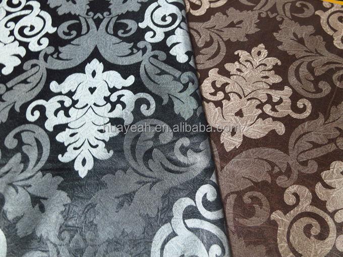 bande motif en cuir comme indienne tissu d 39 ameublement pour canap 100 polyester id de produit. Black Bedroom Furniture Sets. Home Design Ideas