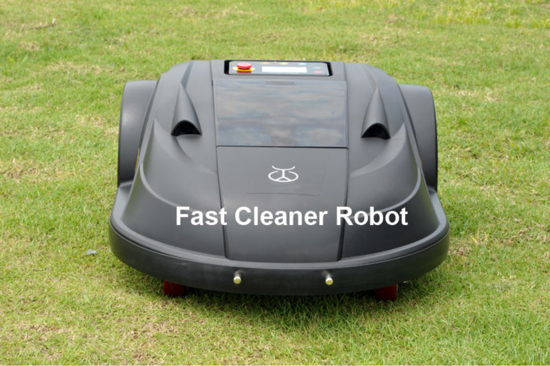 Newest Lawn Mower Robot With NEWEST WIFI APP Control directly by your SMARTPHONE+Water-Proofed Charger