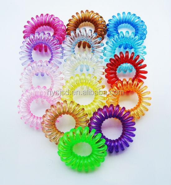 Plastic Coiled Hair Band   Spring Plastic Hair Tie - Buy Soft Hair ... 7011f8d857d
