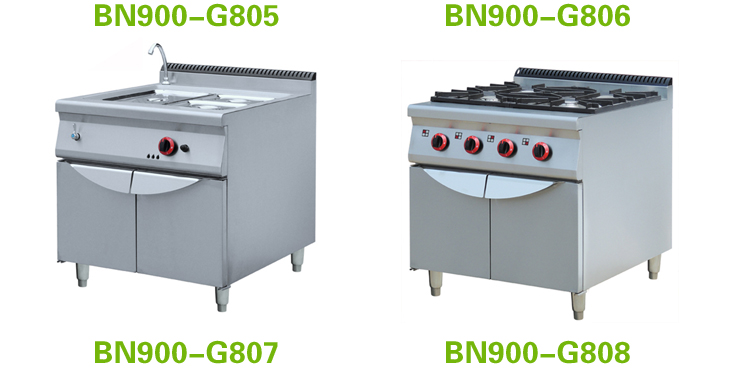 Justa Style Commercial 6 Burners Gas Stove With Cooking