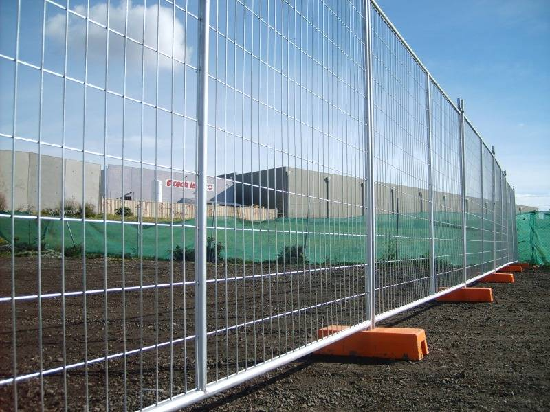 Galvanized Temporary Safety Fence Manufacturer Industrial