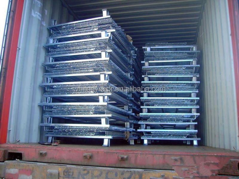 4 Layer Stacking Galvanized Welded Rabbit Storage Wire