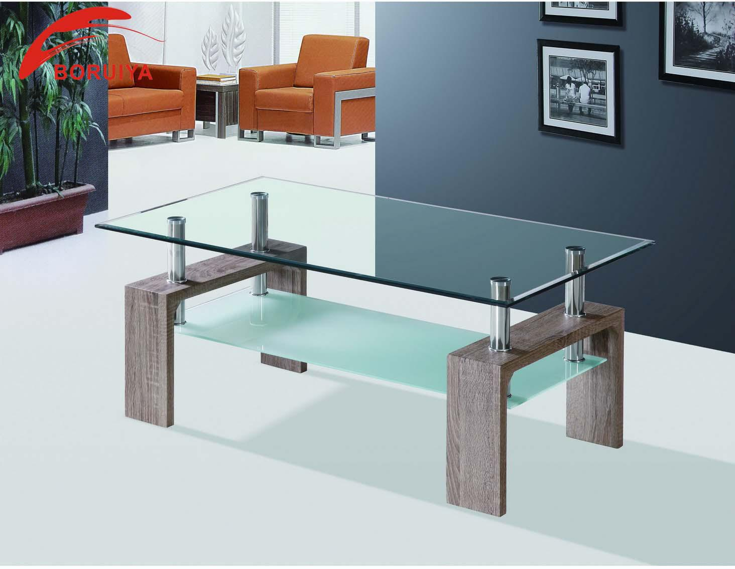Living Room Furniture Center Table Design/coffee Table Tempered ...