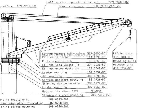 chengben ship deck crane with discount