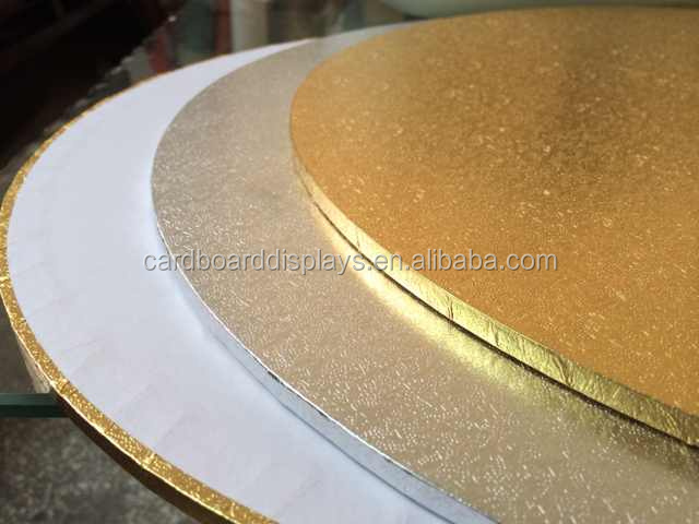 Mdf Cake Board  Good Quality Solid Cake Board 6mm Foil Gold Silver Christmas Wedding Board