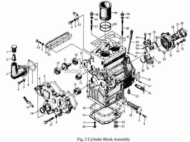 Jinma Tractor Ty290 Diesel Engine Parts & Jinma Tractor Parts - Buy ...