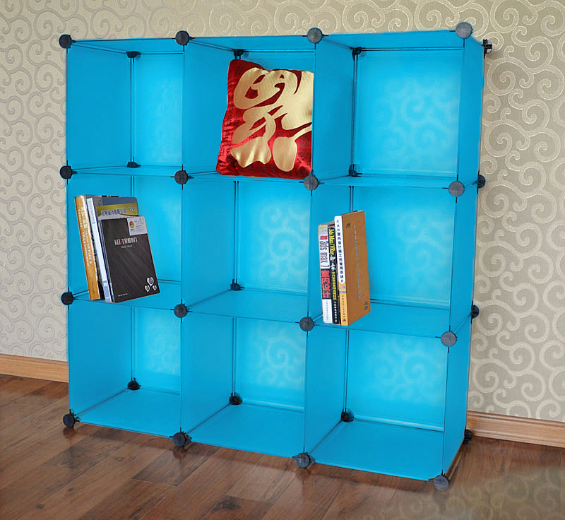 9 cubes Environment friendly custom closet organizers for sale (FH-AL0033)