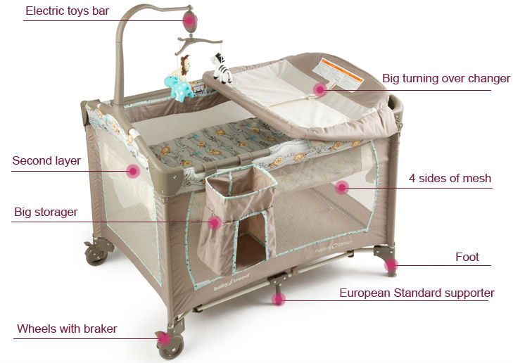 Baby Playpen Travel Cot Baby Furniture View Baby Playpen