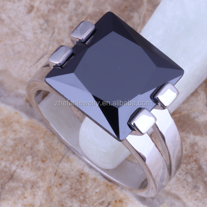 BRASS RING STONE SQUARE RING DESIGN, View BRASS RING, zhefan ...
