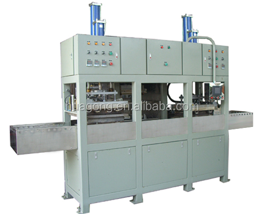 tableware tray pulp molding production line 1000pcs/hour