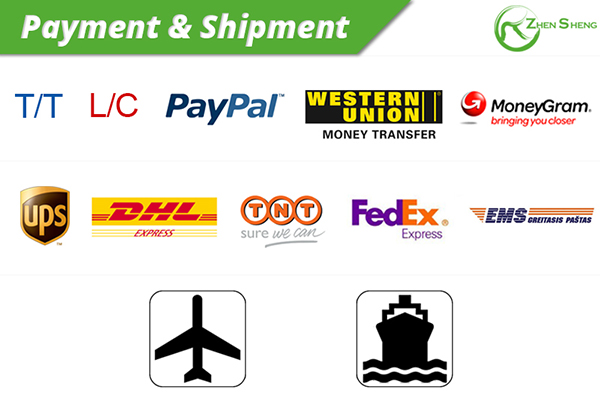 payment & shipment