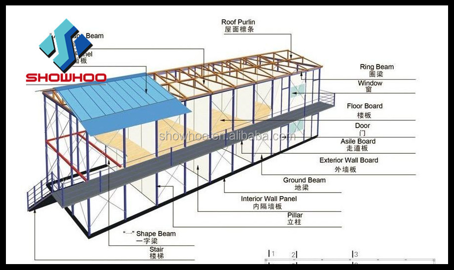 Steel Building Design Drawing Industrial Shed Buy