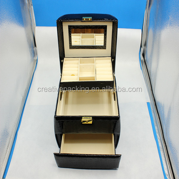 Empty Jewelry Gift Boxes Leather Jewelry Box Manufacturers