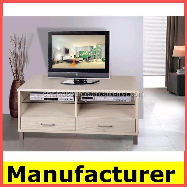 Hot Sale Modern Wooden Led Tv Stand Furniture With Glass Showcase ...